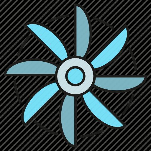 blade, clean energy, energy, power, wind turbine icon