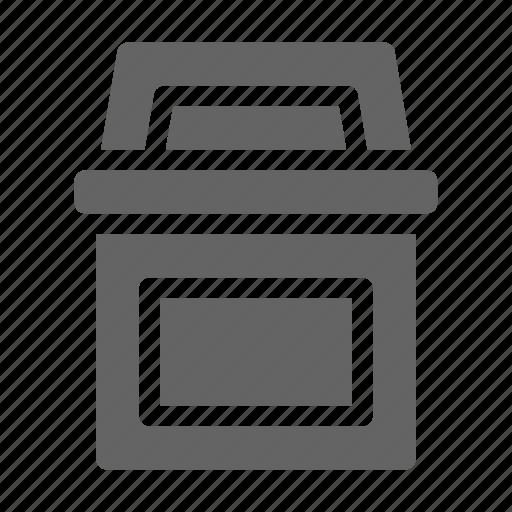 bin, garbage, residential icon