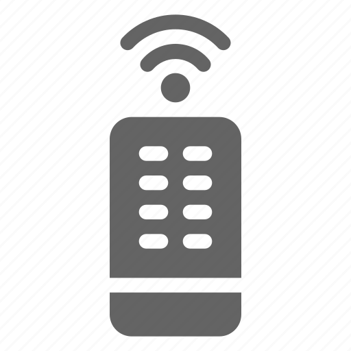 control, remote, technology icon