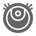 cleaner, robot, vacuum icon