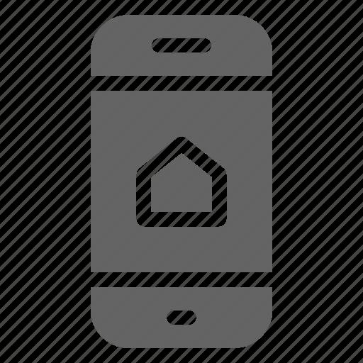 control, home, smartphone icon