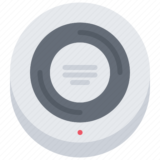 detector, house, internet, smart, smoke, things icon