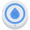 air, house, humidity, internet, sensor, smart, things icon
