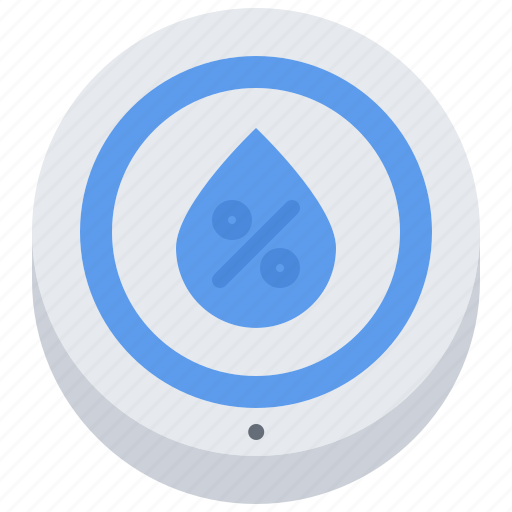 air, house, humidity, internet, sensor, smart, things icon