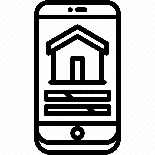 house, internet, phone, setting, smart, things icon