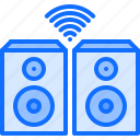 house, internet, music, smart, speaker, things icon