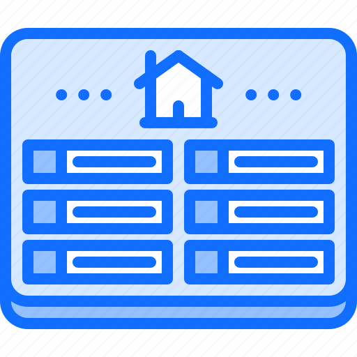 console, control, house, internet, panel, smart, things icon