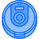 cleaner, house, internet, robot, smart, things, vacuum icon