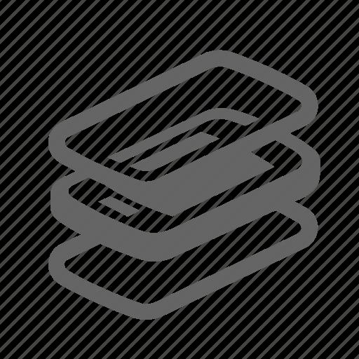 bumper, cover, glass, mobile, protect, screen, smartphone icon
