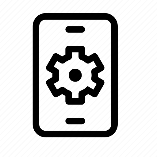config, configuration, device, mobile, phone, preferences, settings icon