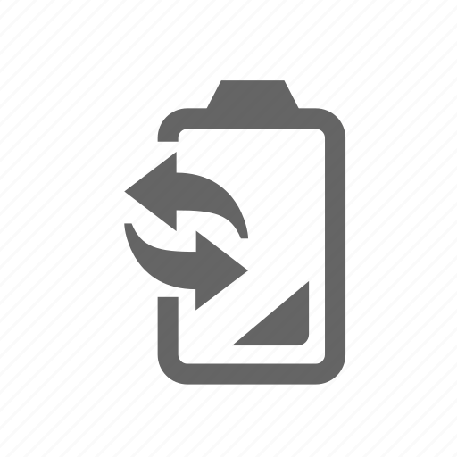 accumulator, battery, change, dead, mobile, replacement, substitute icon