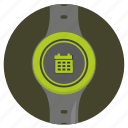 calendar, date, screen, smart, watch icon