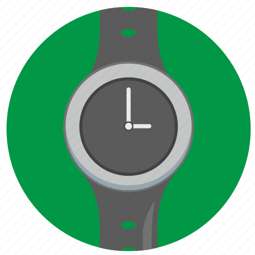 classic, clocks, interface, round, smart, watch icon
