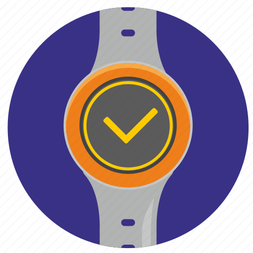 accept, complete, ok, smart, watch icon