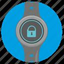 clocks, locked, round, smart, ui