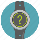 clock, quest, question, smart, watch