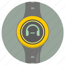 level, minus, smart, sound, volume, watch icon