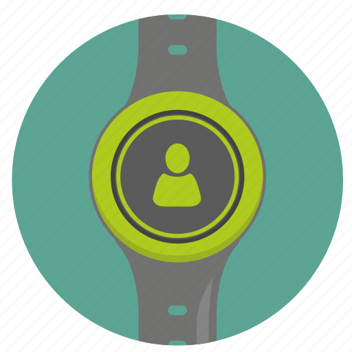 clock, person, smart, ui, user, watch icon