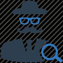 hacker, marketing, search optimization, seo, white hat icon