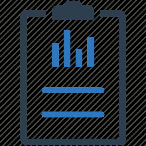 analytics, file, report, statistics icon