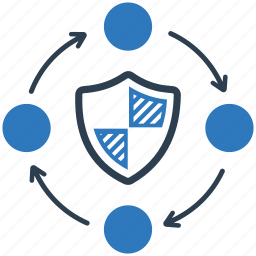 anti virus, firewall, lock, network, private, security, security system icon