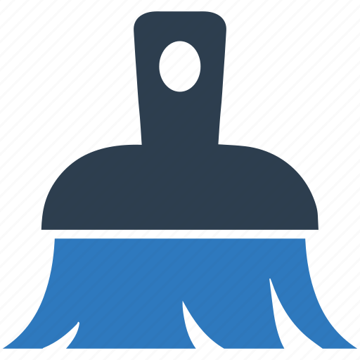 broom, clean, cleaner, erase icon