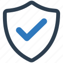 secure, shield icon