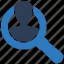 account, profile, search, user