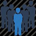group, leadership, employee, people, team icon