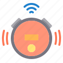 cleaner, electronic, home, robot, smart, technology icon