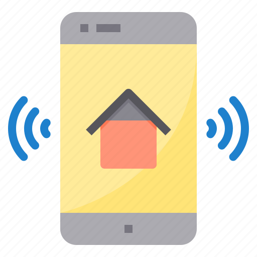 electronic, home, smart, technology icon
