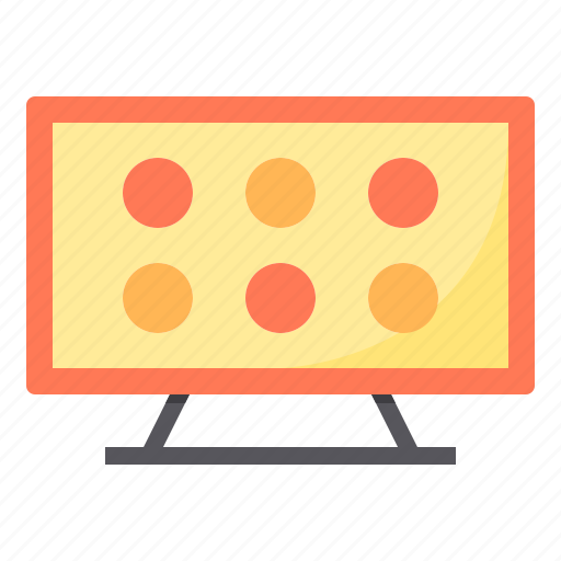 application, electronic, home, smart, technology, tv icon
