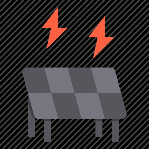 electronic, energy, home, smart, solar, technology icon