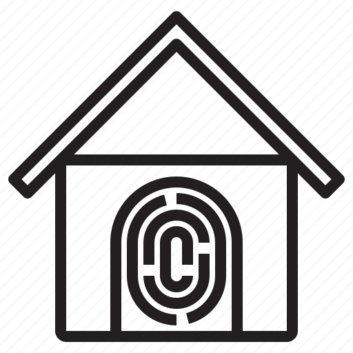 electronic, home, security, smart, technology icon