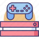 controller, entertainment, fun, game, gaming, joystick, play icon