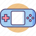console, controller, fun, game, handheld, joystick, play icon