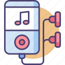 audio, harmony, melody, mp4, music, player, portable icon