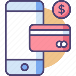 business, instant, mobile, payment, shopping, simplify, smartphone icon