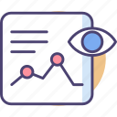 analytics, forecast, future, paranormal, prediction, prophecy, sight icon