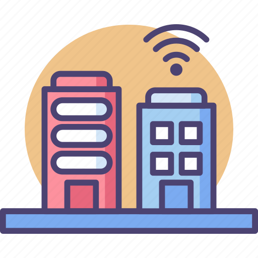 Buildings, smart, architecture, business, construction, office, technology icon - Download on Iconfinder