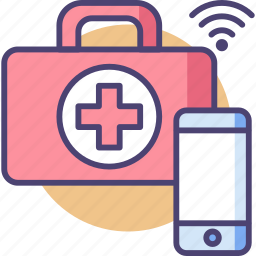 aid, care, emergency, healthcare, medical, smart, technology icon