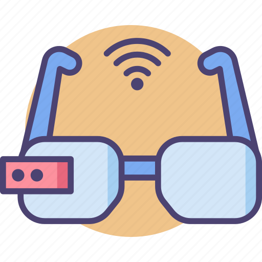 Glasses, smart, accessories, device, gadget, internet, technology icon - Download on Iconfinder