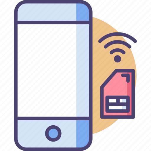 Sim, smart, cell, communication, mobile, network, smartphone icon - Download on Iconfinder