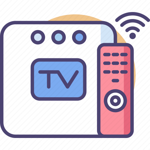 Box, smart, tv, monitor, technology, television, watching icon - Download on Iconfinder
