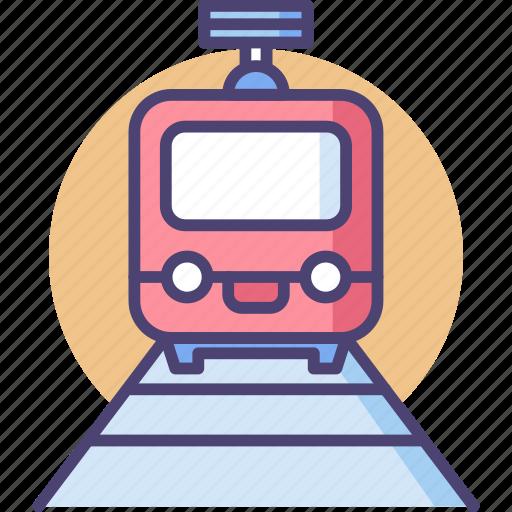 Train, rail, tourism, transportation, travel, vehicle icon - Download on Iconfinder
