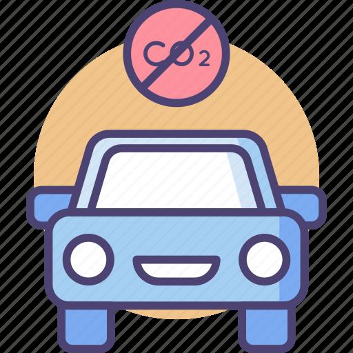 car, control, eco, emission, transportation, travel, vehicle icon