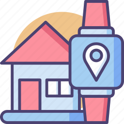 device, gadget, mobile, smartphone, technology, watch, wearable icon