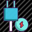 consumption, energy, technology icon