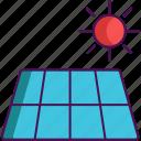 energy, power, solar, technology icon