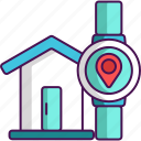 device, technology, wearable icon